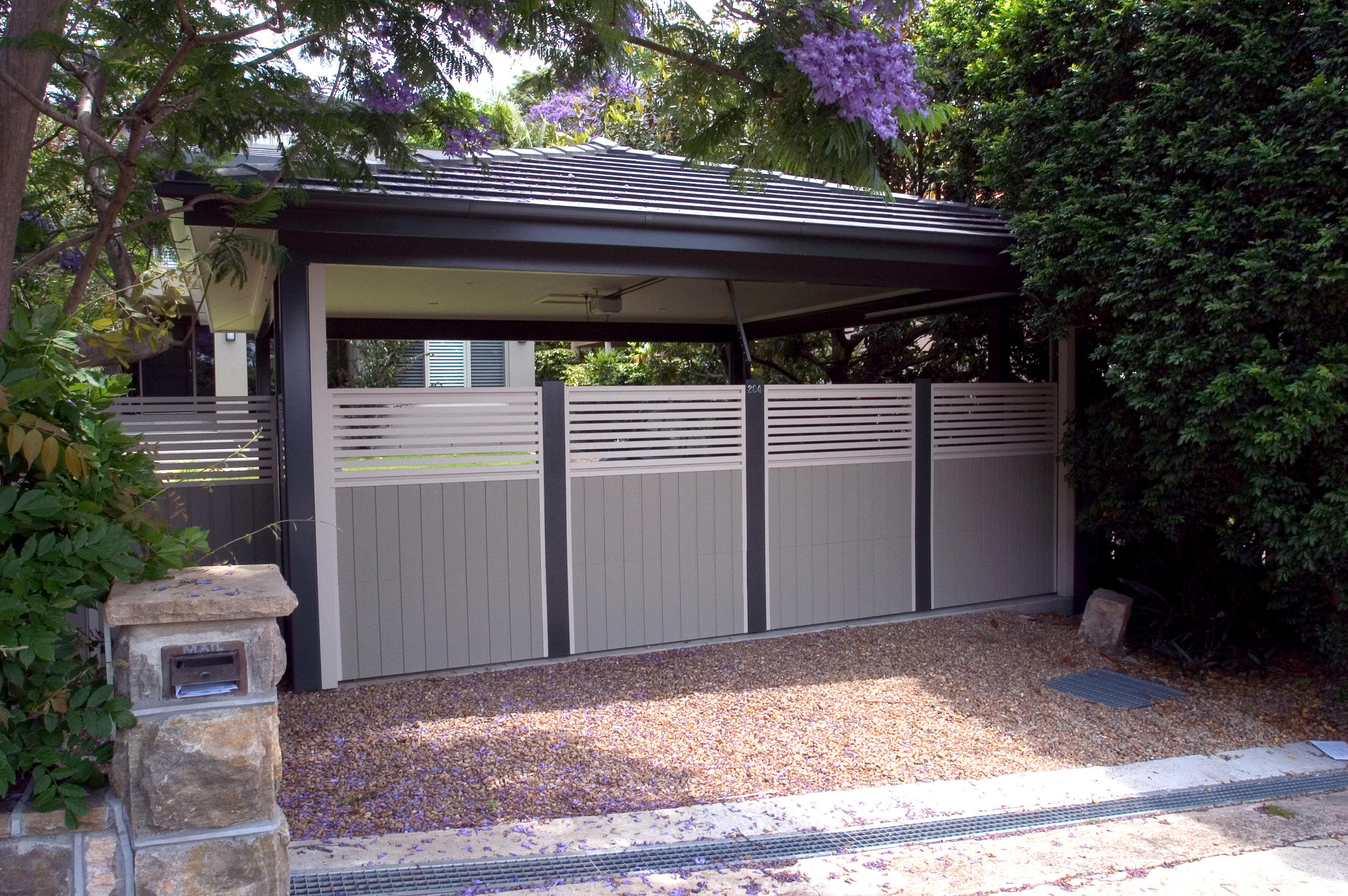 Fence Gate Style F Personality Garage Doors