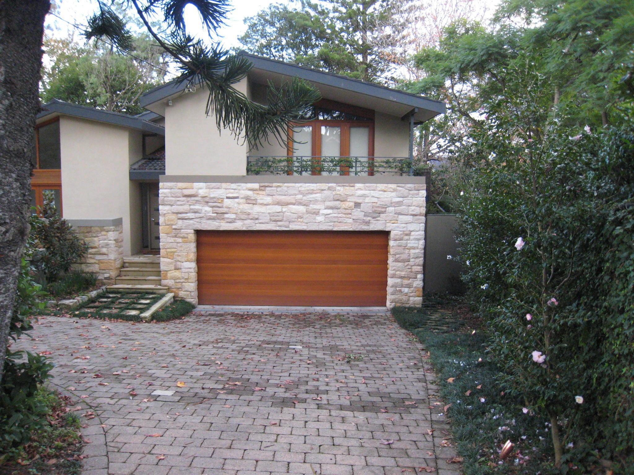 Western red cedar personality garage doors for Western garage