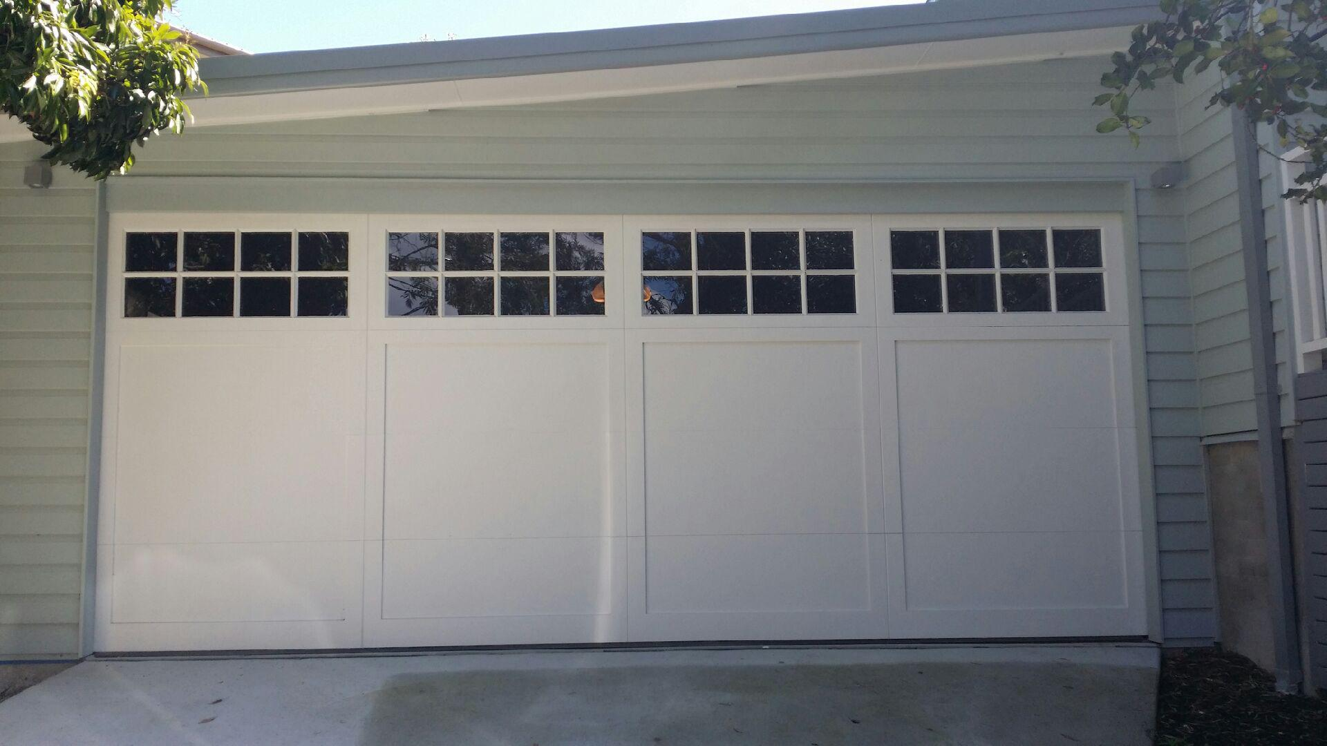 Barn Bungalow Carriage Style E Personality Garage Doors