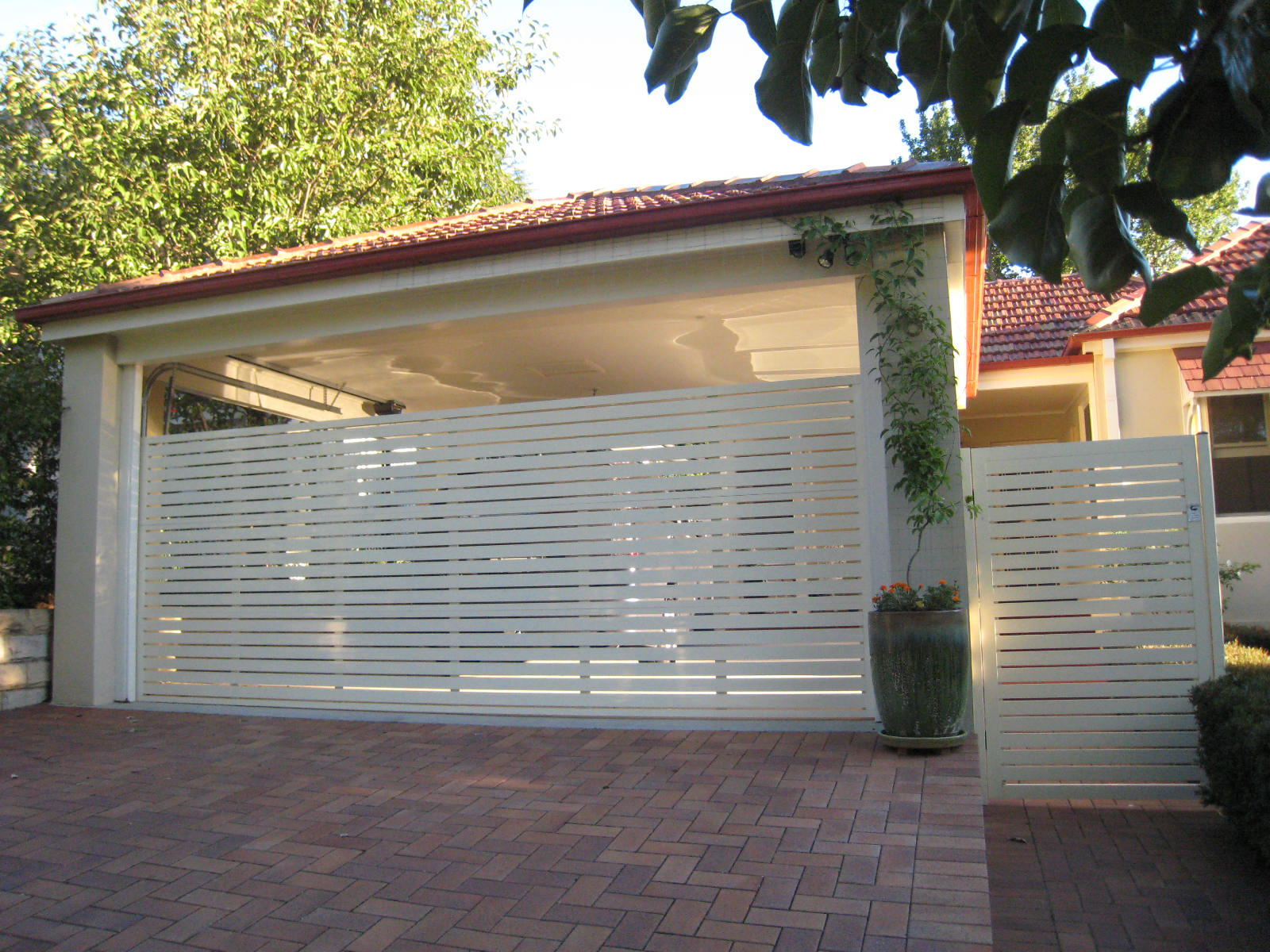 Fence Gate Style - F - Personality Garage Doors