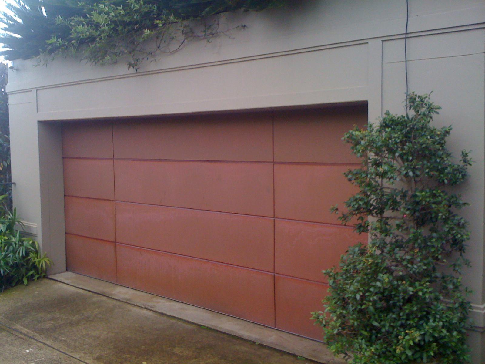 Metal Clad Zinc Or Copper G Personality Garage Doors