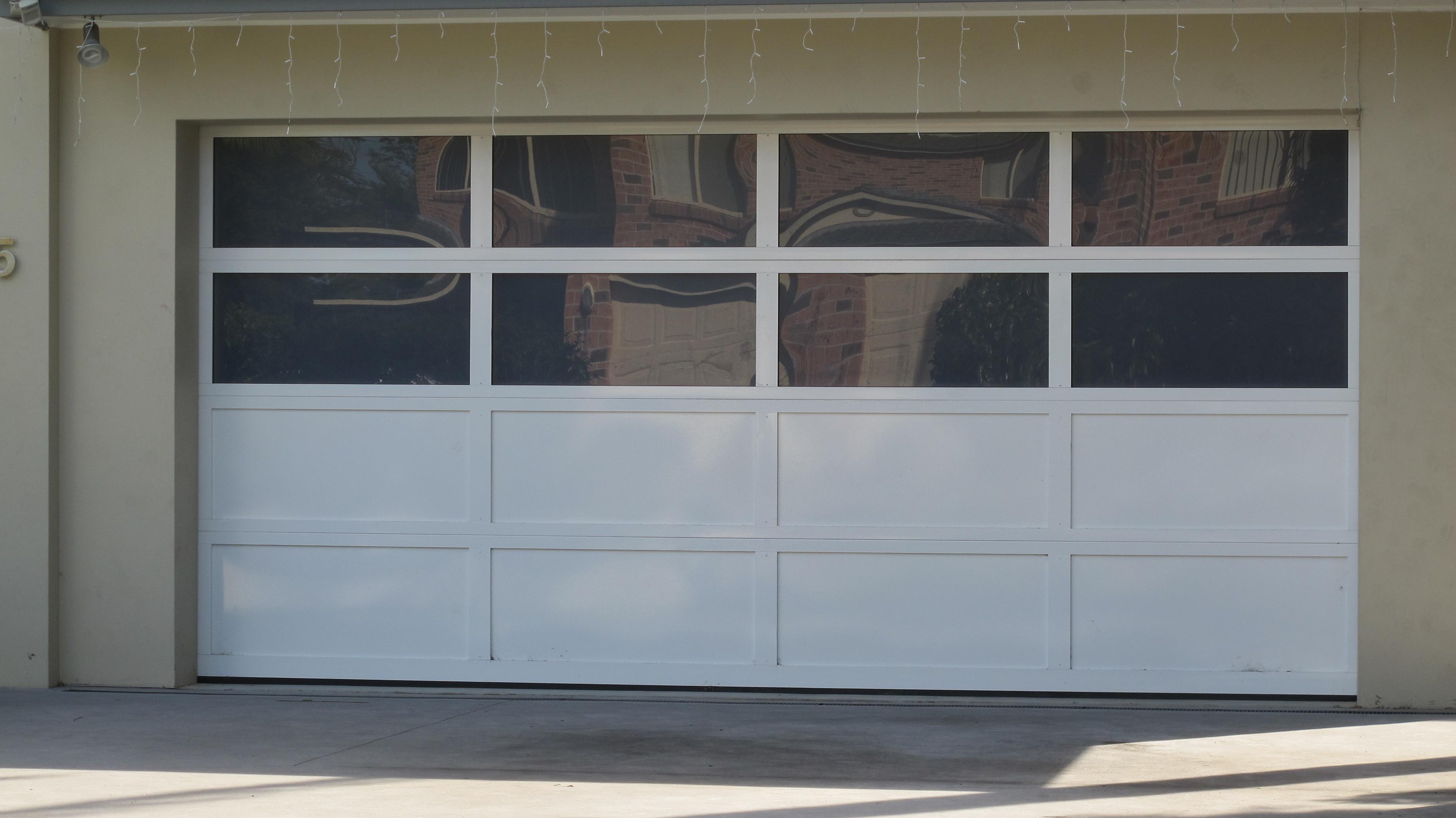 Acrylic C Personality Garage Doors